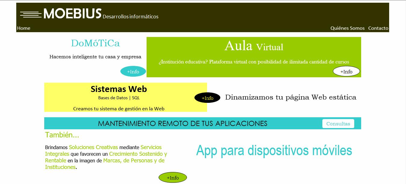 Web Moebius